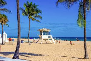 Fort Lauderdale beach near Las Olas Boulevard